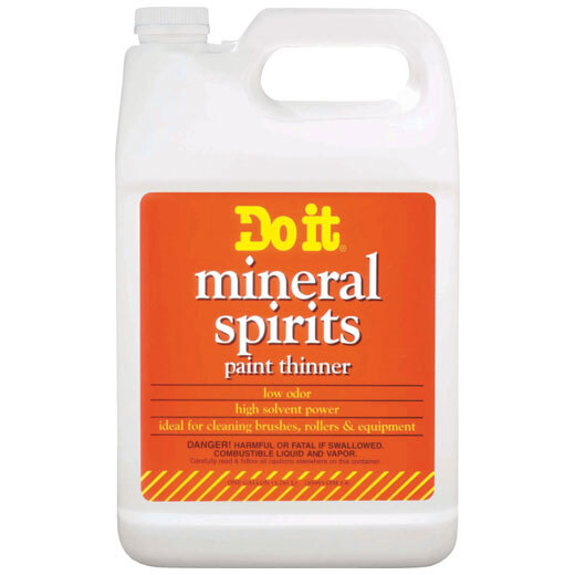 Paint Thinners, Mineral Spirits & Turpentine