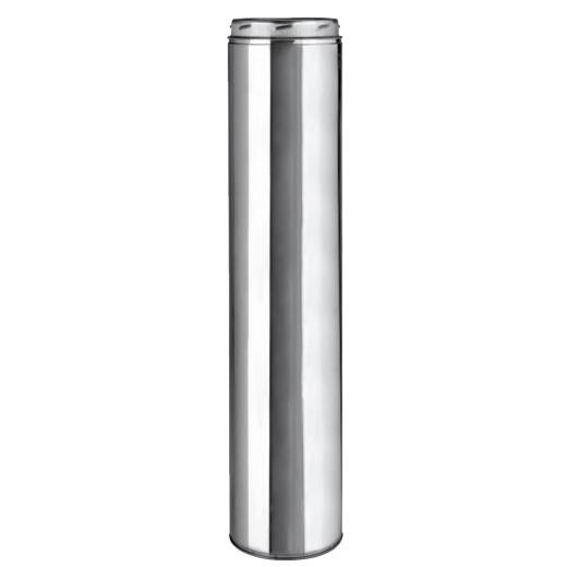 SELKIRK Sure-Temp 6 In. x 36 In. Stainless Steel Insulated Pipe