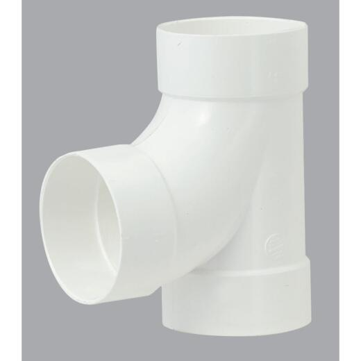 IPEX Canplas Sanitary Tee 4 In. PVC Sewer and Drain Tee