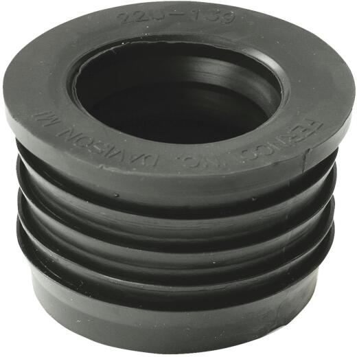 Fernco DWV 2 In. x 1-1/2 In. Sewer and Drain PVC Iron Pipe Hub Adapter