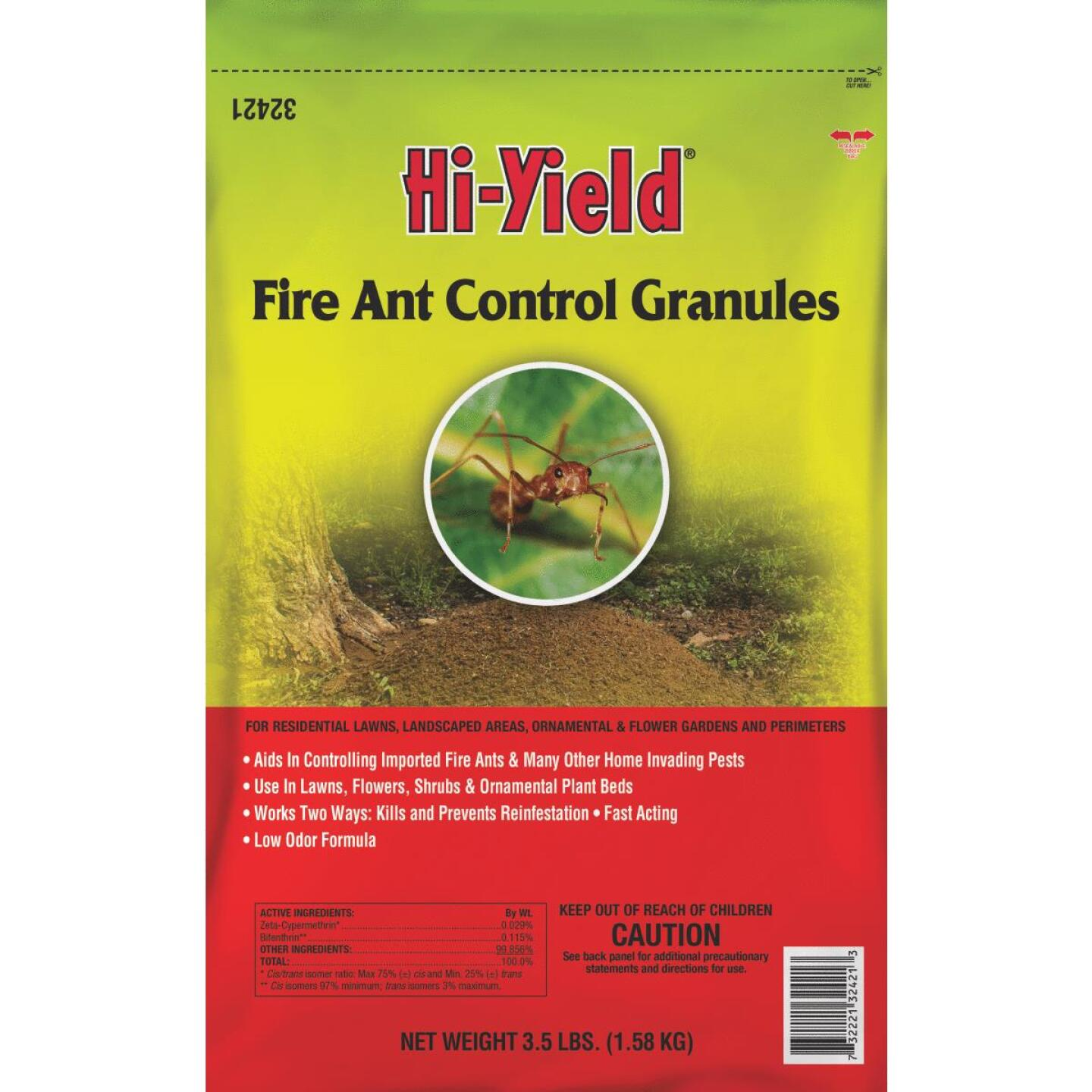 Hi-Yield 3.5 Lb. Ready To Use Granules Fire Ant Control Image 1